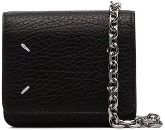 Maison Margiela Stitch-Detailed Mini Leather Cross Body Bag
