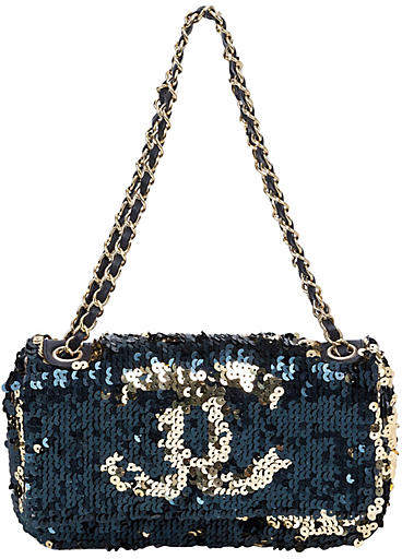 6b64aa79be04 Chanel Sequin Bag - ShopStyle