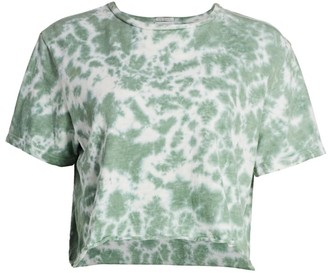 Mother Tie-Dye Crop Tee