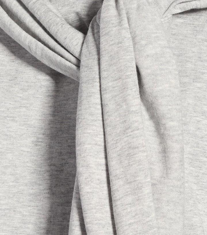 Thumbnail for your product : MM6 MAISON MARGIELA Cotton jersey midi dress