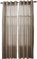 Asstd National Brand Cambridge Home Monica Grommet-Top Curtain Panel