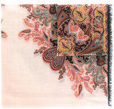 Etro Persian print scarf