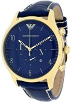 Giorgio Armani Emporio Classic AR1862 Men's Gold-Plated Stainless Steel Chronograph Watch