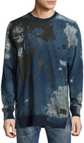 PRPS Aviation Bleached & Distressed Sweatshirt