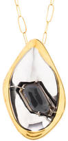 Alexis Bittar Large Crystal Pendant Necklace