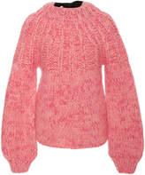Ganni The Julliard Mohair and Wool-Blend Sweater