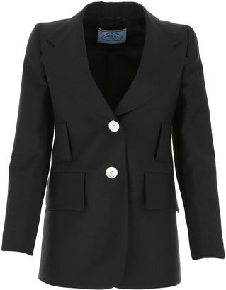 Prada Tailored Longline Blazer