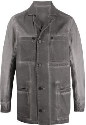 11 By Boris Bidjan Saberi Oversized Denim Jacket