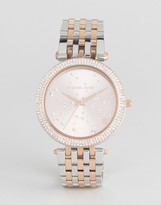 Michael Kors MK3726 Darci Star Dial Bracelet Watch In Mixed Metal