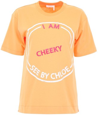 See by Chloe Printed T-Shirt
