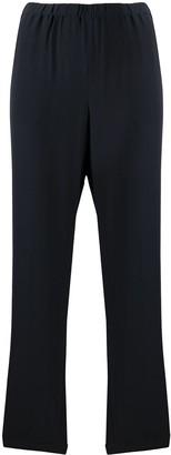 Aspesi High-Waisted Silk Trousers