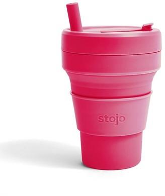 Stojo Biggie Collapsible Cup Peony 16 Oz