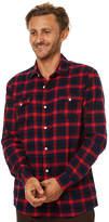 Swell Memphis Ls Shirt Red