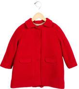 Caramel Baby & Child Girls' Wool Long Sleeve Coat