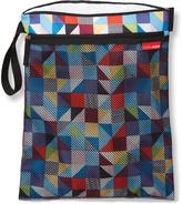 Skip Hop Blue & Red Prism Grab&Go Wet/Dry Wristlet Diaper Bag