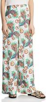 Maje Parifa Wide-Leg Printed Pants