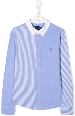 Ralph Lauren Kids TEEN striped shirt