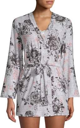 Be Yourself 3-Piece Cami Short Pyjamas Robe Set