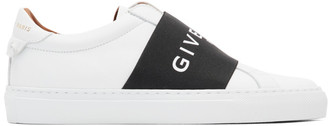 Givenchy White and Black Elastic Urban Knots Sneakers