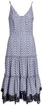 Derek Lam 10 Crosby Samara Eyelet Midi Dress