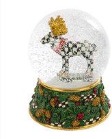 Mackenzie Childs Moose on Parade Snow Globe