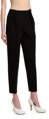 Bottega Veneta Pleated Front Scuba Pants
