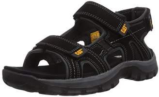 Caterpillar Giles CAT Leather Sandals in Black P716653 [UK 6 EU 40]