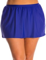 Delta Burke Plus Size Core Solid Skirted Bottom 7538535