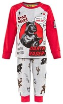 Fabric Flavours Grey And Red Darth Vader Pyjamas