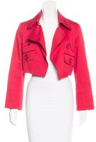 Gianfranco Ferre Cropped Canvas Jacket