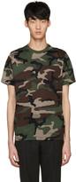 John Lawrence Sullivan Johnlawrencesullivan Khaki Camo T-Shirt