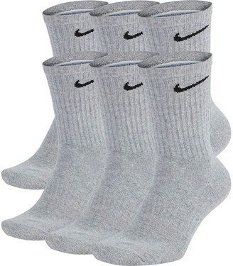 Nike Men's 6-Pair Everyday Cushion Crew Training Socks