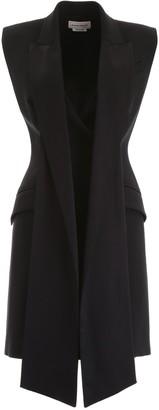 Alexander McQueen Sleeveless Layered Dress