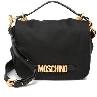 Moschino Nylon Bag gold logo Crossbody bag