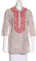 Figue Embellished Short Sleeve Tunic