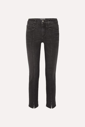 Givenchy Mid-rise Straight-leg Jeans - Black
