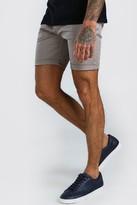 boohoo Mens Grey Super Skinny Chino Short, Grey