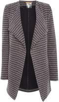 HUGO BOSS Tivera Knitted Jacket in Dark Blue