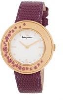 Salvatore Ferragamo Women's Gancino Swiss Quartz Watch