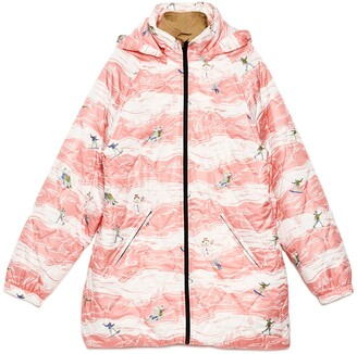 Martine Rose Printed Quilted Jacket
