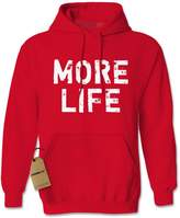 Expression Tees Hoodie More Life Rap Adult
