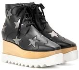 Stella McCartney Elyse platform high-top derby shoes