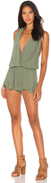 Indah Zuma Romper in Sage. - size M (also in S,XS)