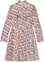 Gucci Horsebit print dress