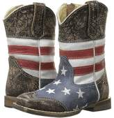 Roper Sanded Leather Upper Cowboy Boots