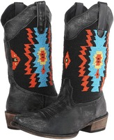 Roper Southwest Hand Beaded Snip Toe Boot