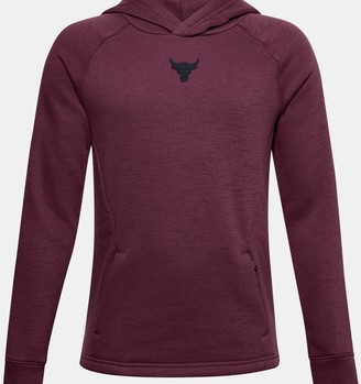 Under Armour Boys' Project Rock Charged Cotton Hoodie