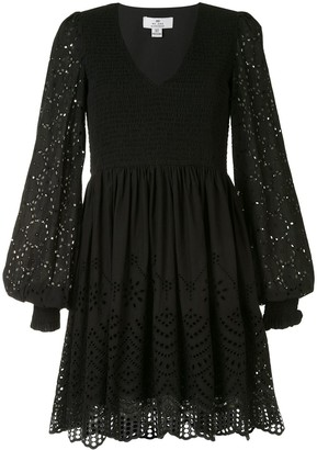 We Are Kindred Lua embroidered mini dress