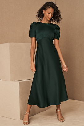 BHLDN Leyden Dress By in Green Size 4