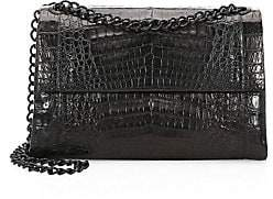 Nancy Gonzalez Women's Large Madison Crocodile Shoulder Bag